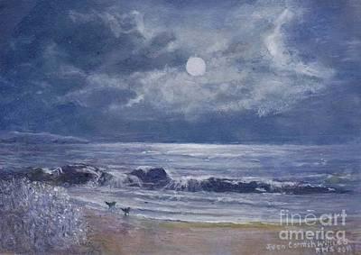 Moonglow Art Print by Joan Cornish Willies