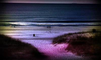 Photograph - Moonlight Beach by Rita Tortorelli
