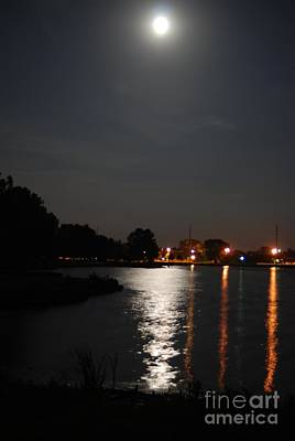 Photograph - Moonlight On The Lake by Mark McReynolds