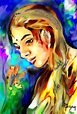 Digital Art - Moonlight by Parag Pendharkar