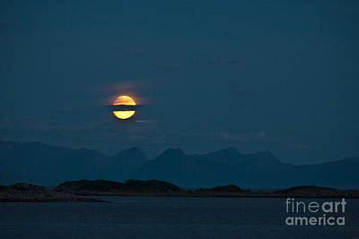 Impressionism Photos - Moonlight Series - 3 by Heiko Koehrer-Wagner