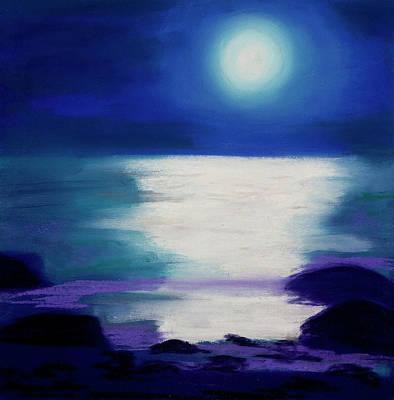 Moonlight Sonata Art Print by Diana Tripp