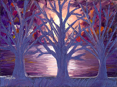 Featured Tapestry Designs - Moonlight Whispers by Jessilyn Park