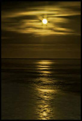 Moonlit Pacific Art Print by Dale Stillman