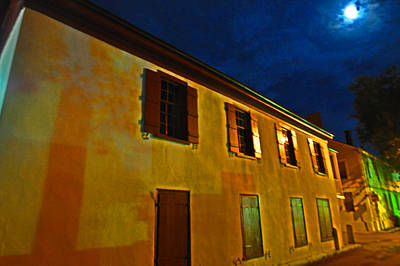 Moonlit Night Photograph - Moonlit Streets by Peter  McIntosh