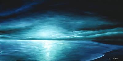 Moonrise II Art Print by James Christopher Hill