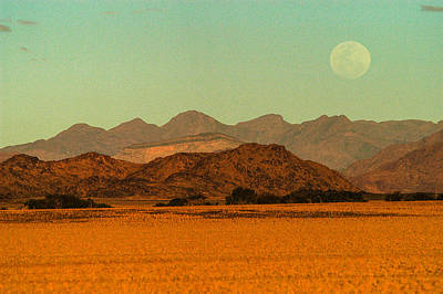 Photograph - Moonrise Moment by Alistair Lyne