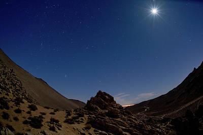 Photograph - Moonscape by Greg Wyatt