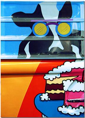 Mooooooo Art Print by Chris Anderson