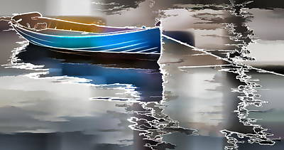 Moored Art Print by Alice Gipson