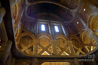 Photograph - Moorhead Stave Church 16 by Cassie Marie Photography