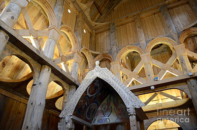 Photograph - Moorhead Stave Church 17 by Cassie Marie Photography
