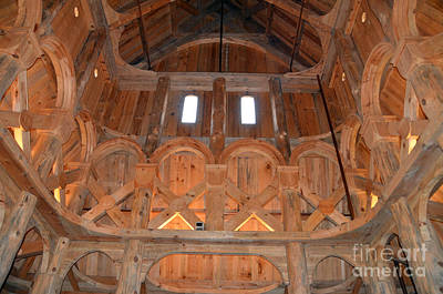 Photograph - Moorhead Stave Church 19 by Cassie Marie Photography