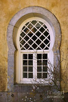 Moorish Window Print by Carlos Caetano