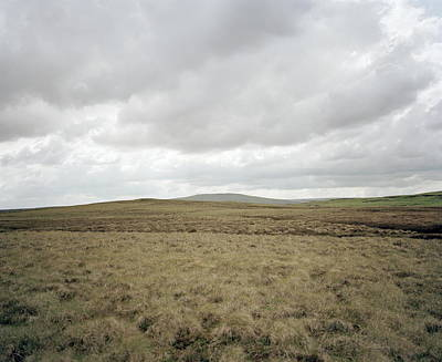 Grey Clouds Photograph - Moorland by Michael Marten