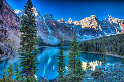 Craig Brown Photograph - Moraine Lake by Craig Brown
