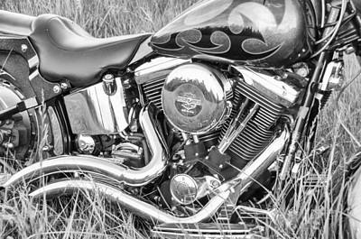 Photograph - More Chrome In Monochrome by Guy Whiteley