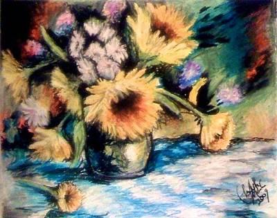 Pastel - More Flowers by Elizabeth Marks