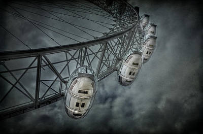London Eye Photograph - More Then Meets The Eye by Evelina Kremsdorf