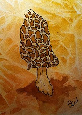 Painting - Morel by Stephanie Reid