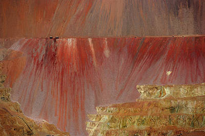 Door Locks And Handles - Morenci Mine by Vicki Pelham