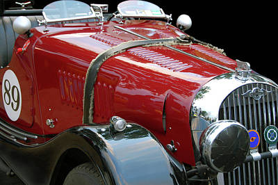 British Hot Rod Photograph - Morgan Plus 4 by Bill Dutting