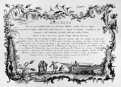 Photograph - Morghen: Raccolta, 1768 by Granger