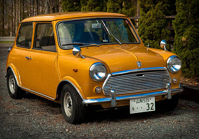 Photograph - Moris Mini Cooper by Sebastian Musial
