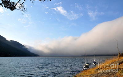 Water Photograph - Morning At Rosario Resort On Orcas Island   2 by Tanya  Searcy