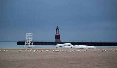 Photograph - Morning At The Beach by Milena Ilieva