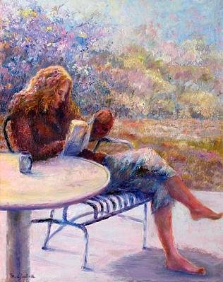 Painting - Morning Book by Bonnie Goedecke