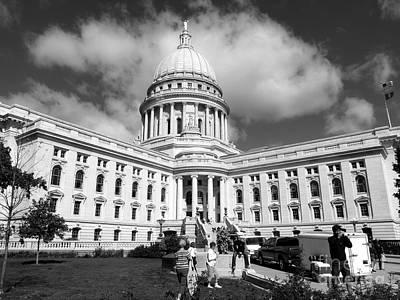 Photograph - Morning Capitol by David Bearden