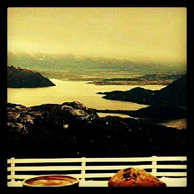 Foodie Photograph - Morning Cup W/a Killer View. #coffee by Mary Carter