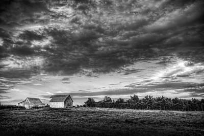 Farm Scenes Photograph - Morning Farm by Jim Pearson