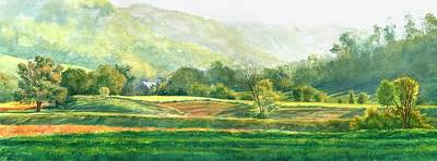 Painting - Morning Fields by Phyllis Martino