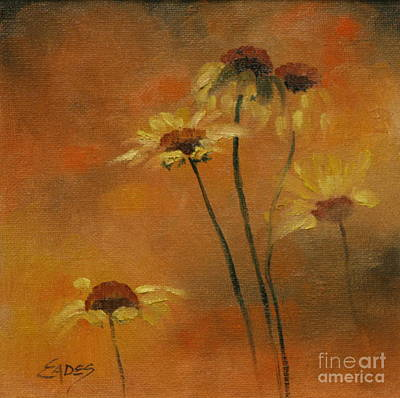 Morning Fire Art Print by Linda Eades Blackburn