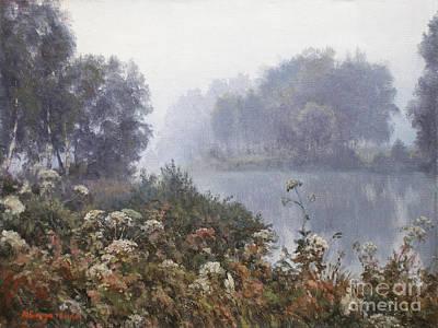Morning Fog Art Print by Andrey Soldatenko