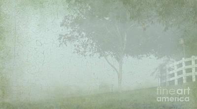 Morning Fog Art Print by Judi Bagwell