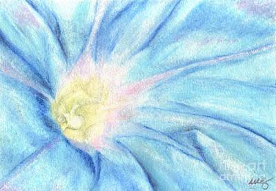 Morning Glorious Art Print by Iris M Gross