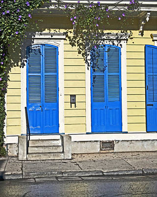 Creole Cottage Wall Art - Photograph - Morning Glory Cottage by Cheri Randolph
