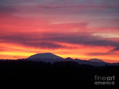 Art Print featuring the photograph Morning Glow by Chalet Roome-Rigdon