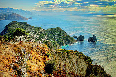 Morning In Capri Art Print by Andre Salvador