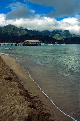 Morning In Hanalei Bay Art Print