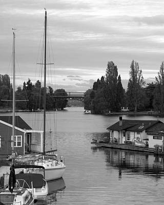 Morning In Montlake Art Print
