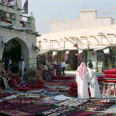 Souq Photograph - Morning In Souq Waqif  Qatar by Paul Cowan