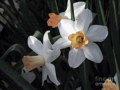 Photograph - Morning Jonquils by Sherry Oliver