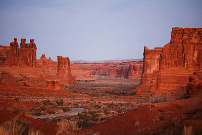 Photograph - Morning Light At Arches National Park by Marilyn Hunt