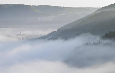 Photograph - Morning Mist - Fog In Donautal Valley by Matthias Hauser