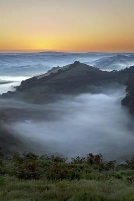 Morning Mist Art Print by Dr Keith Wheeler