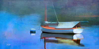 Morning Mist Art Print by Michael Petrizzo